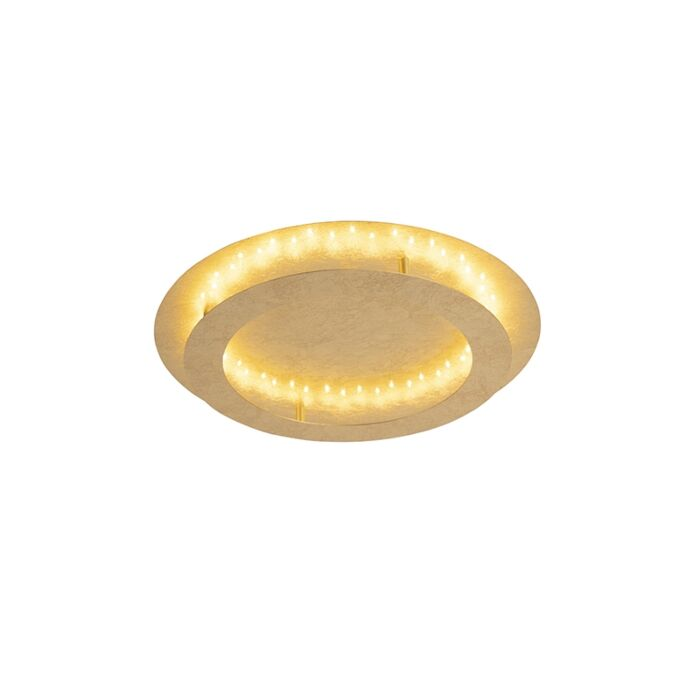 Art-deco-plafondlamp-goud/messing-50-cm-incl.-LED---Belle