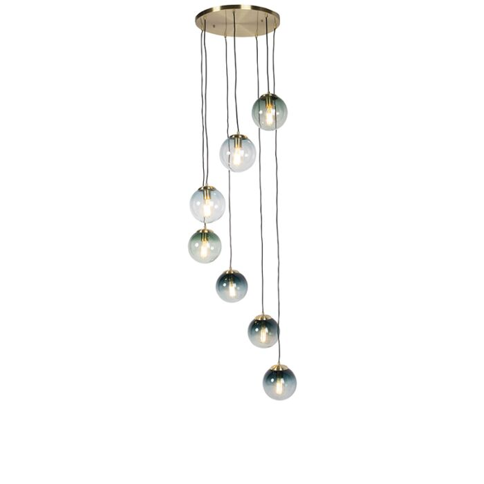 Art-deco-hanglamp-messing-7-lichts---Pallon