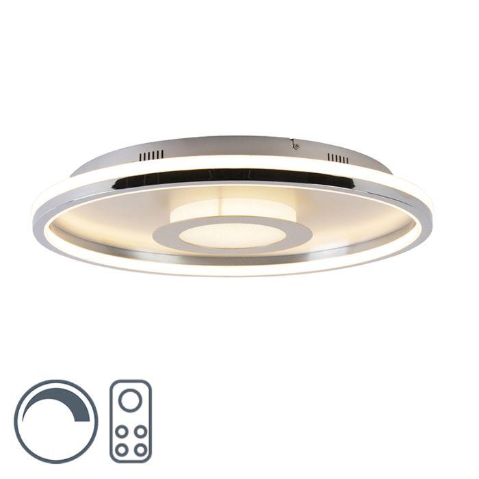 Plafonniere-60-cm-met-afstandsbediening-incl.-LED---Oculus