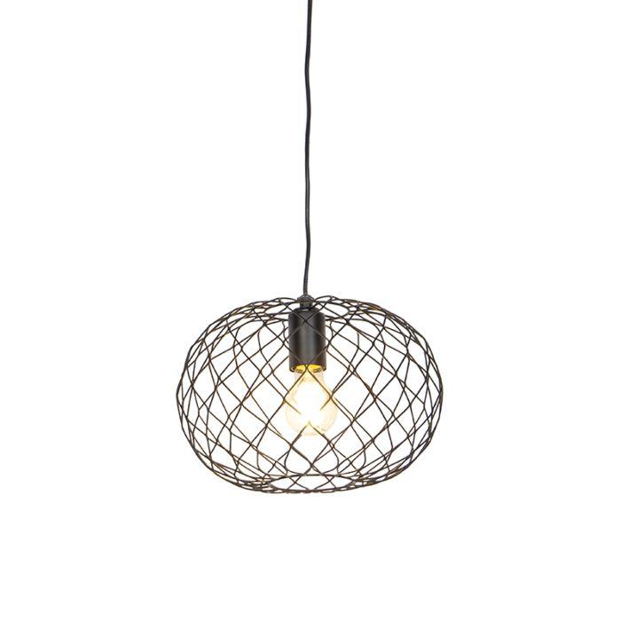 Design-hanglamp-zwart---Helian
