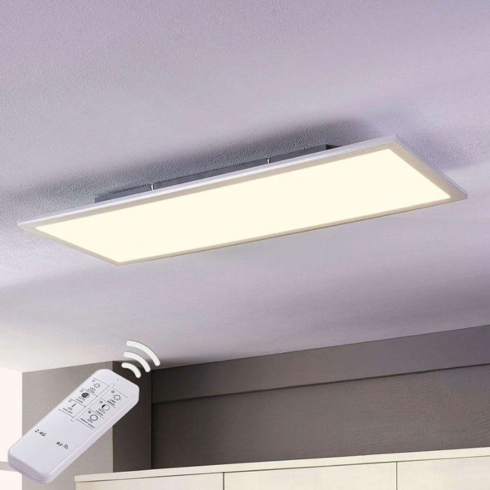 Modern-LED-paneel-incl.-LED-dimbaar-met-afstandbediening-80-cm---Liv