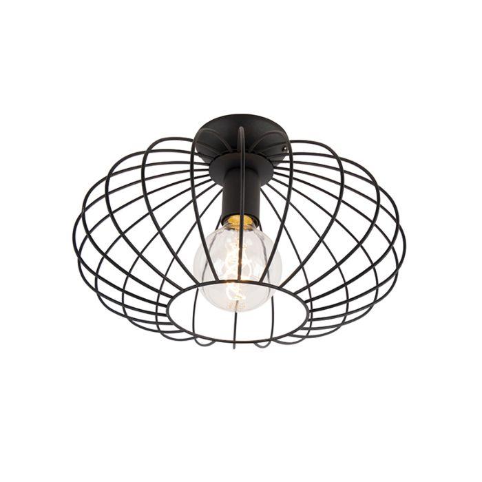 Design-plafonnière-zwart---Margarita