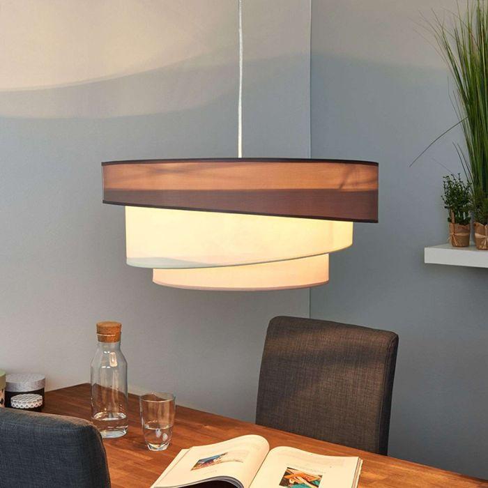 Design-ronde-hanglamp-bruin-grijs-56-cm---Melia