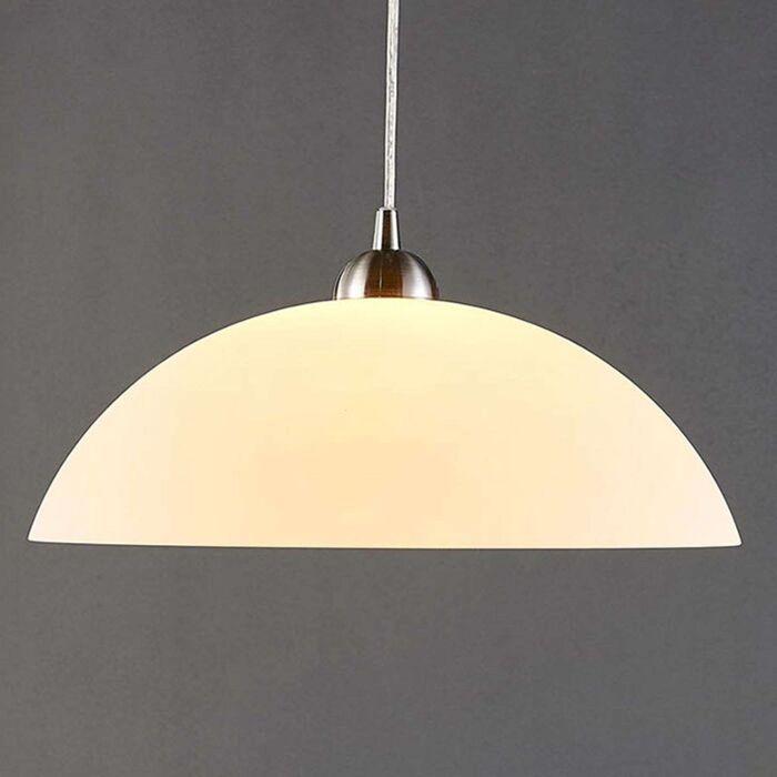 Klassieke-ronde-hanglamp-wit---Valeria