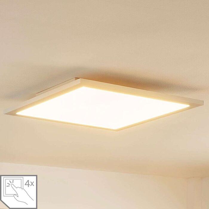 Modern-LED-paneel-incl.-LED-en-dimmer-39,5-cm---Enja
