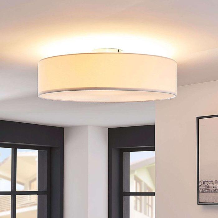 Klassieke-ronde-plafondlamp-incl.-3-x-E27---Sebatin