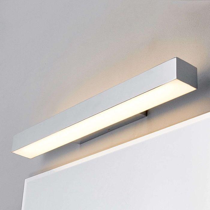 Moderne-badkamerlamp-chroom-60-cm-incl.-LED-IP44---Kiana