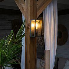 Industriële-wandlamp-zwart-26-cm-IP44---Charlois