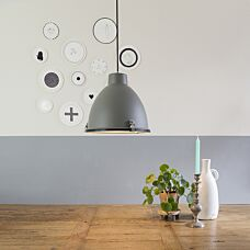 -Industriële hanglamp bruin 38 cm - Anteros-aanbieding