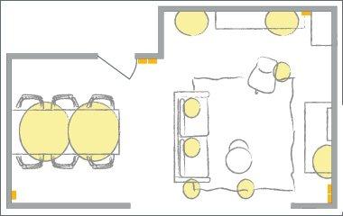 functioneel lichtplan binnen