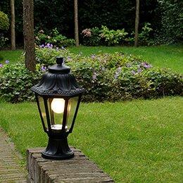 Lampenlicht - Montage instructies tuinverlichting