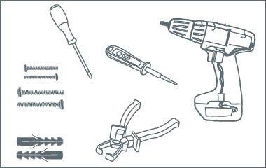 Montage instructies - hanglamp - benodigdheden